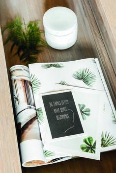 YAYA HOME | P FOR PALMPRINT | CAMPAIGN #YAYAHOME #YAYASS16 #Campaign #Pforpalmprint #Postcard #Poster #Magazine #Concrete #Box #Interior #Homedecor