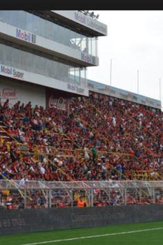 Atardecer en el Alejandro Morera Soto, casa de la Liga Deportiva Alajuelense