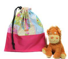 sac à doudou fille rentrée des classes maternelle sac par Kipapee