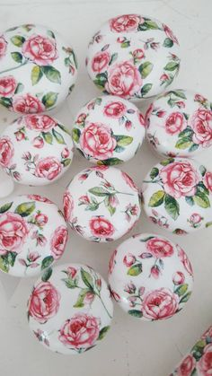 Your place to buy and sell all things handmade Shabby Chic Drawer Knobs, Draw Knobs, Kilner Jars, Vintage Rock, Handmade Items, Handmade Gifts, Pink Roses, Etsy Shop, Countryside
