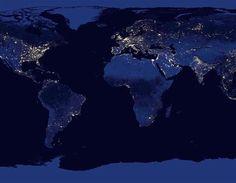 Bumi di Malam Hari