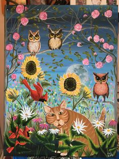 Cute Cats, Funny Cats, Funny Cat Videos, Cat Gif, Pictures, Painting, Art, Kawaii Cat, Craft Art