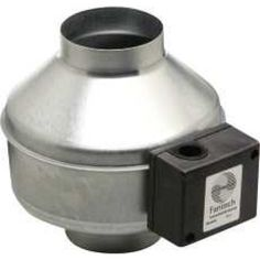Inline 4 In. Centrifugal Duct Fan, Metal Housing ??? 135 Cfm, 120V