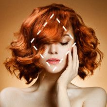 le carré bouclé =en mettant l'accent sur le haut et/ou le bas de votre visage. choisissez 1 coiffure avec beaucoup de volume en racine ou 1 coiffure mi- longue et souple. Evitez la frange & préférez une mèche sur le côté pour casser le côté anguleux de votre visage.Préférez aussi des coiffures déstructurées,& dégradées.coiffure idéale: 1 carré bouclé qui donne de la rondeur o visage.+ les boucles voluptueuses & le style coiffé-décoifféA éviter: coiffures trop lisses, sans volumes & raie o…