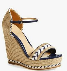 Effortless Everyday Style: Dreaming of Warm Weather... Gucci Tiffany Wedge