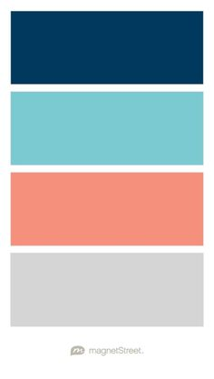 pretty turquoise/lime/navy palette. colors of our bedrooms when i