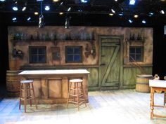 Hobson's Choice. Pittsburgh Irish and Classical Theater. Scenic design by Gianni Downs. 2011
