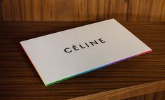 Celine Invitation Spring Summer 2013 fashion-marketer.com #invitation #fashion #defile #fashionweek #inspiration #catwalk #event #design #creation #ss13 #celine #fashionmarketer