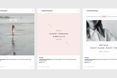 Diary Social Media Pack by Studio Standard on @creativemarket