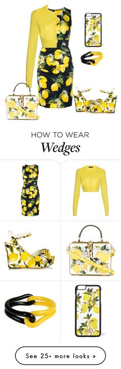 """""""Untitled #6610"""" by tailichuns on Polyvore featuring Dolce&Gabbana and First People First"""