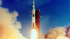 """the launch of Apollo 11, the first Lunar landing mission, on July 16, 1969. The massive Saturn V rocket lifted off from NASA's Kennedy Space Center with astronauts Neil A. Armstrong, Michael Collins, and Edwin """"Buzz"""" Aldrin at 9:32 a.m. EDT for the Apollo 11 mission. (Image: Nasa)"""