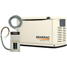 Generac Guardian™ 16kW Standby Generator System (100A 16-Circuit Automatic Switch) Model 6461