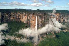 EL MÁS ALTO DEL MUNDO: SALTO ANGEL (VENEZUELA): una maravilla que debes conocer