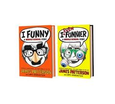 I Funny and I Even Funnier by James Patterson - great #gift for reluctant readers
