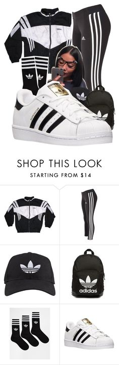 """""""In Orlando """" by shamyadanyel ❤ liked on Polyvore featuring adidas and adidas Originals"""