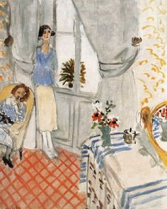 Henri Matisse - 1921, The Boudoir