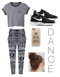 """""""Dance ❤️"""" by lucca-moos-wagner ❤ liked on Polyvore featuring NIKE, Casetify and Pin Show"""