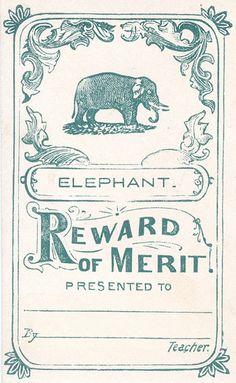 prizegivings - Reward of Merit.