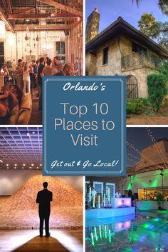 Orlando Top 10 places to visit-Florida wedding locations