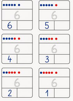 Number decomposition only up to 6 Math Activities, Preschool Activities, Basic Math, 1st Grade Math, Math Facts, Math For Kids, Math Worksheets, Primary School, Math Lessons