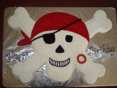 pirate cupcake cake - Google Search