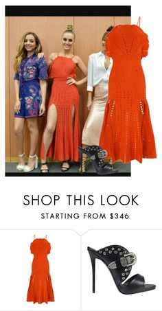 """Get the look Perrie"" by jenny-malik19 ❤ liked on Polyvore featuring Alice McCall and Giuseppe Zanotti"