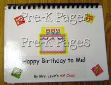 Quick and Easy Class Birthday Book for Preschool and Kindergarten