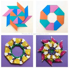 Post image for How to Make a Modular Origami Magic Star