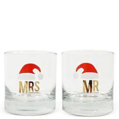 Umm do they come in Ms??? haha Mr. & Mrs. Holiday Glasses - Furbish Studio