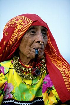 Kuna woman in Panama #world #cultures