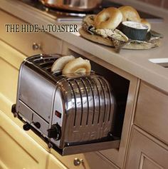 Hide-away toaster                                                                                                                                                                                 More