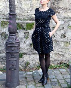Robe leopoldine - Anne durieu