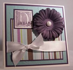Splitcoast Stampers. Great card making ideas.
