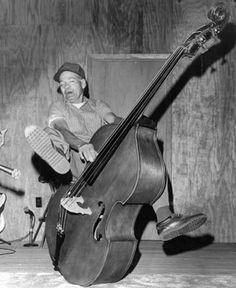 Who Says Playing Upright Bass Isn't Fun?
