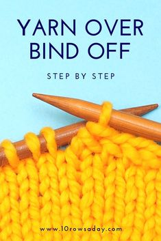 There is a number of ways to create a stretchy bind off. We discussed some of them in this tutorial, but every one of them has its own peculiarities. Bind Off Knitting, Knitting Help, Knitting Kits, Knitting Stitches, Knitting Needles, Sock Knitting, Knitting Machine, Vintage Knitting, Beginners Knitting Kit