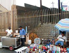File:US-Mexico barrier at Tijuana pedestrian border crossing.jpg ...
