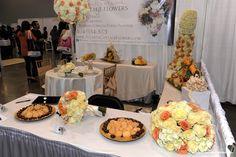 Atlanta Cottage Flowers @ Georgia Bridal Show 1/4/15