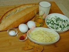Tavada Bayat Ekmek Böreği İçin Gerekli Malzemeler Hot Dog Buns, Bread, Breakfast, Food, Morning Coffee, Brot, Essen, Baking, Meals