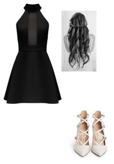 """out"" by jocelyne-luna ❤ liked on Polyvore featuring Gianvito Rossi, women's clothing, women, female, woman, misses and juniors"