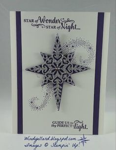 Windy's Wonderful Creations: Star Of Wonder!                                                                                                                                                                                 More
