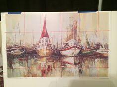 boats pallet oil