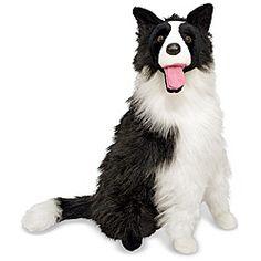 Melissa & Doug Plush Border Collie Stuffed Animal   Overstock™ Shopping - Great Deals on Melissa & Doug Animal Toys