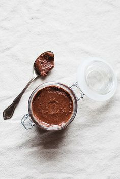 chocolate coconut almond butter // the little red house