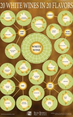 White Wine Infographic: This Chart Will Turn You Into A White Wine Snob