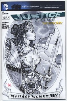 Pin up Wonder Woman, by Michael Dooney