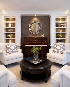 How to place a piano in an interior of your house - рояль в интерьере