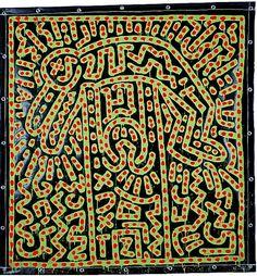 Untitled, 1982 vinyl paint on vinyl tarp 73 x 69 inches 185.42 x 175.26 cm