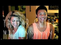 Taylor Swift Medley- Aj Rafael and Tori Kelley. I don't even really like Tay Tay's music, but this is AWESOME. A must listennnn!