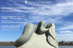 """Minako Yoshino. """"Continuum with The Sleeping Mermaid"""" Exhibition commemorating the permanent installation of """"The Sleeping Mermaid"""" at The Pearl. As part of the event, Ms. Yoshino will also have 8 additional sculptures on display."""