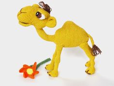 crochet camel amigurumi | Quasimodo the Camel Amigurumi Crochet Pattern by IlDikko on Etsy